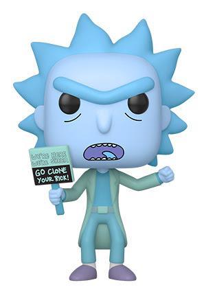 Funko Pop Animation: Rick and Morty - Hologram Rick Clon