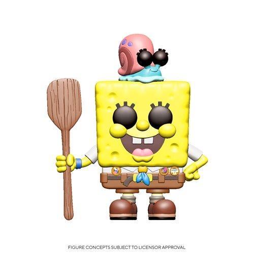 Funko Pop Animation: Bob Esponja la película - Bob Esponja y Gary