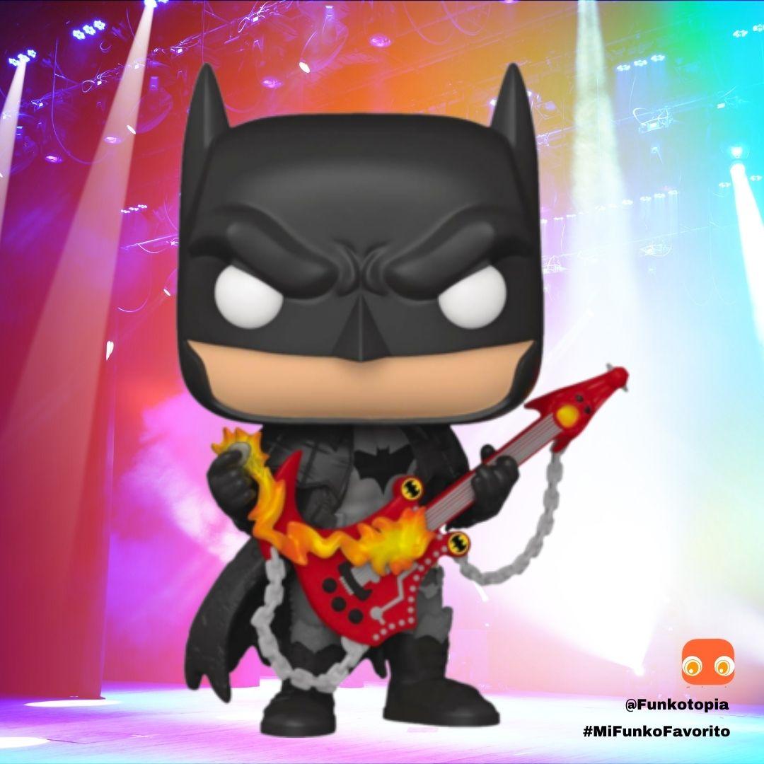 Death Metal Batman con Guitarra Exclusivo