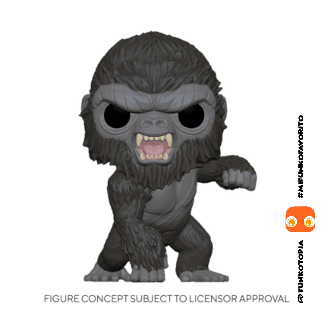 Funko Pocket Pop Keychain: Godzilla Vs Kong